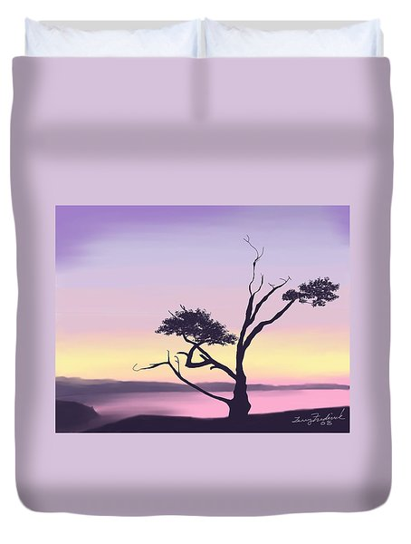 Anacortes Duvet Cover by Terry Frederick