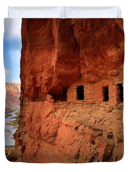 Anasazi Granaries Duvet Cover