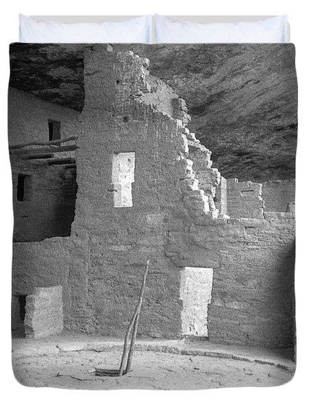 Anasazi Ruin At Mesa Verde Duvet Cover