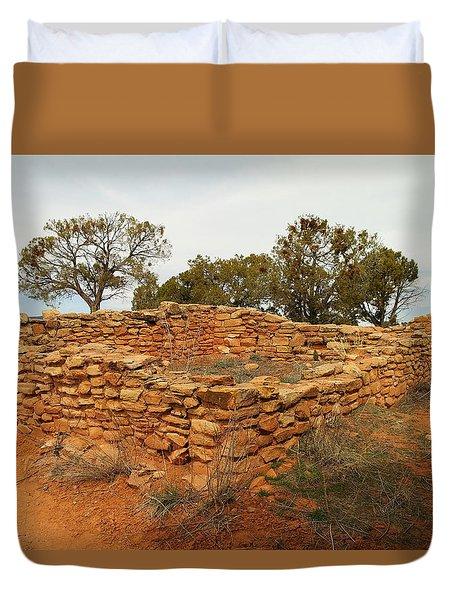 Anasazi Ruins Southern Utah Duvet Cover by Jeff Swan