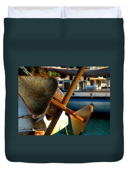 Anchors Away Duvet Cover