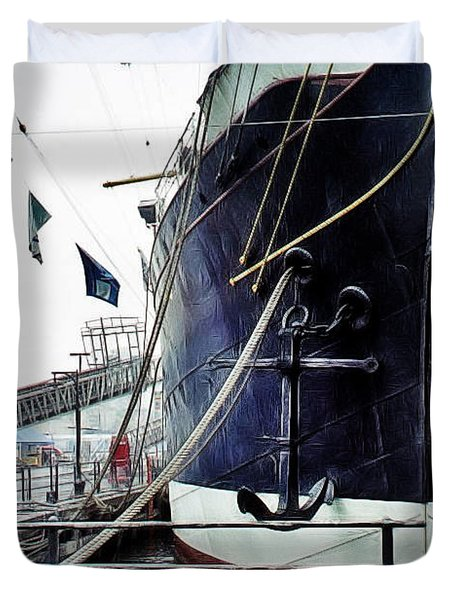 Anchors Aweigh Duvet Cover