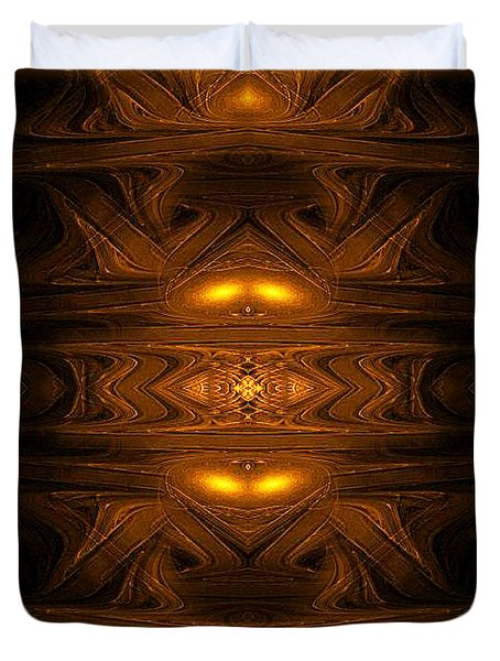 Ancient Alien Jukebox - Abstract Art By Giada Rossi  Duvet Cover