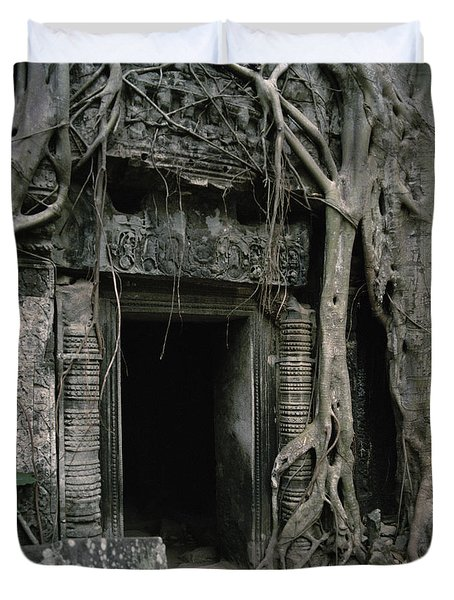 Ancient Angkor Duvet Cover
