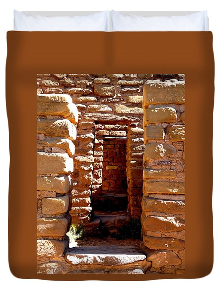 Ancient Doorways Duvet Cover