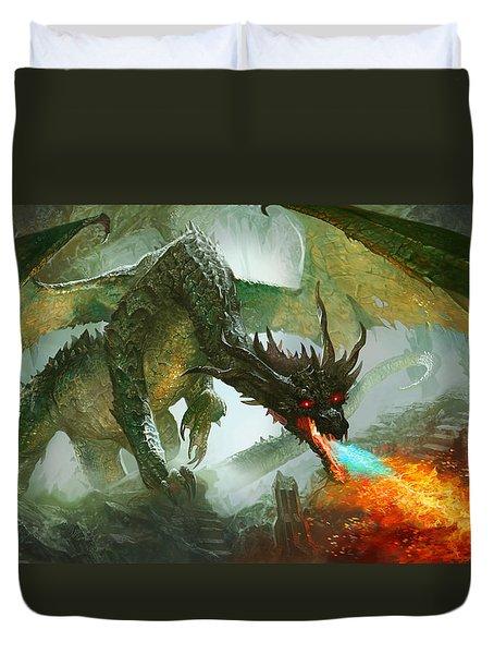 Ancient Dragon Duvet Cover