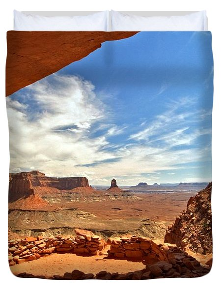 Ancient Life Elevated Duvet Cover by Adam Jewell