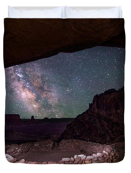 Ancient Skies Duvet Cover