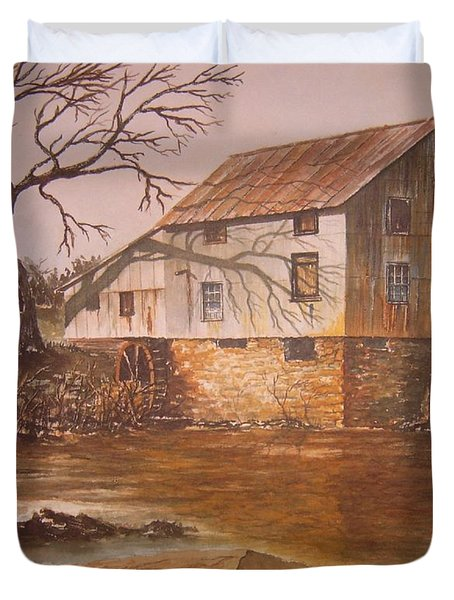 Anderson Mill Duvet Cover by Ben Kiger