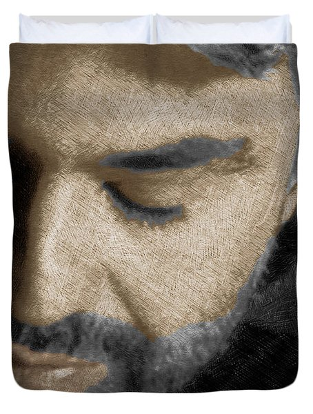Andrea Bocelli And Vertical Duvet Cover