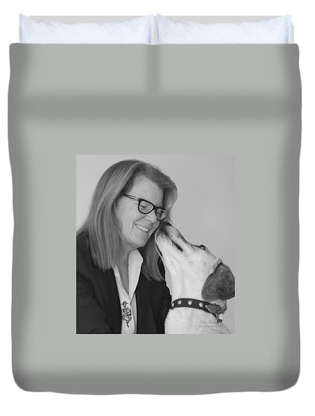 Andrew And Andree Bw Duvet Cover