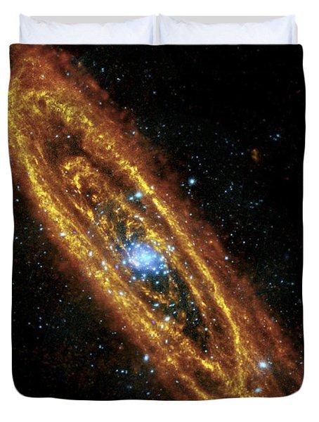 Andromeda Galaxy Duvet Cover by Adam Romanowicz