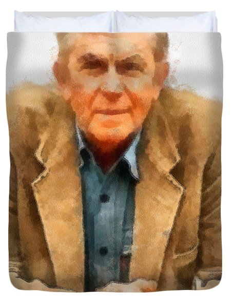 Andy Griffith Duvet Cover