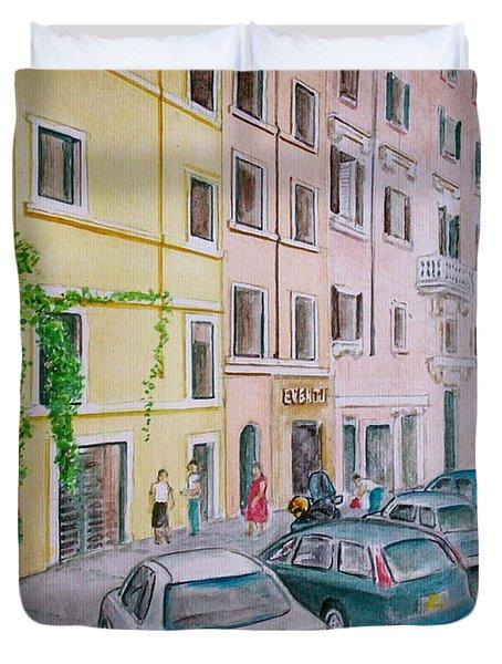 Anfiteatro Hotel Rome Italy Duvet Cover