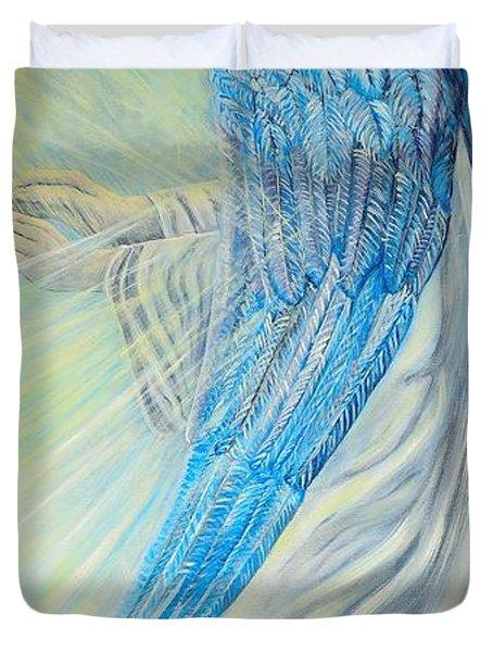 Angel Divine Duvet Cover by Caroline Street