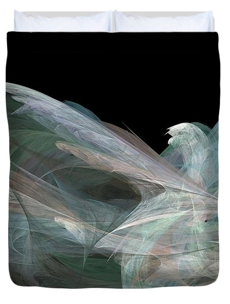 Angel Dove Duvet Cover by Elizabeth McTaggart