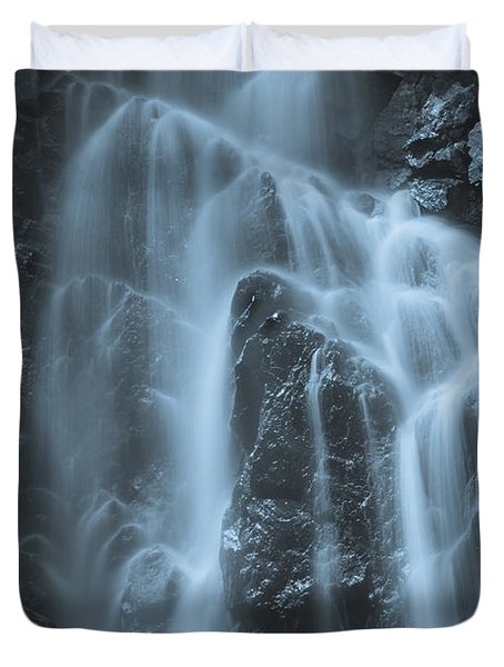 Angel Falls Duvet Cover by Alana Ranney