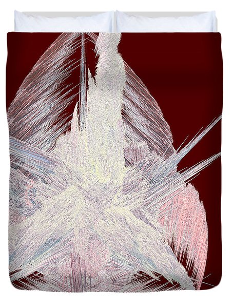 Angel Heart By Jammer Duvet Cover by First Star Art