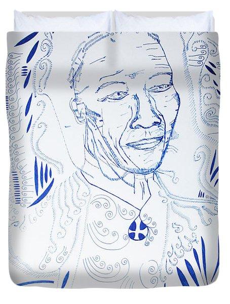 Angel Madiba -  Nelson Mandela Duvet Cover