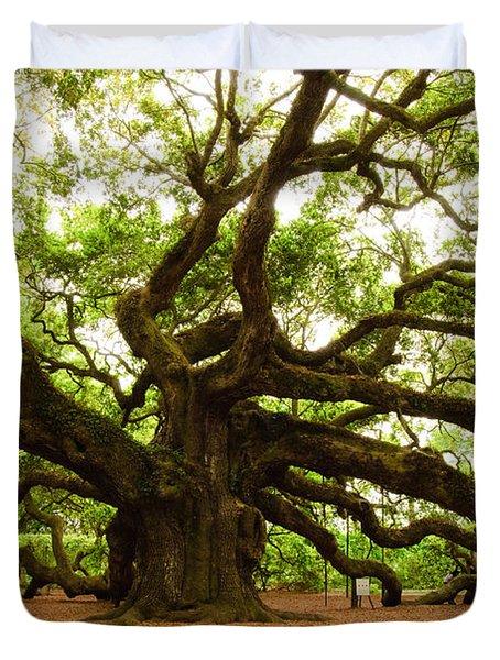 Angel Oak Tree 2009 Duvet Cover