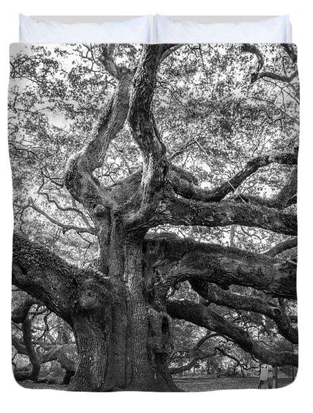 Angel Oak Tree Duvet Cover