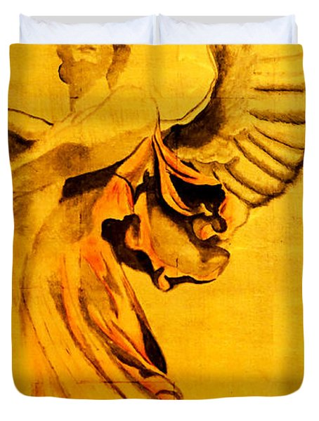 Angel Of The Horizon II Duvet Cover