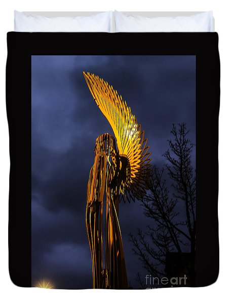 Angel Of The Morning Duvet Cover
