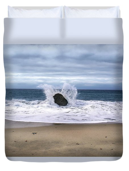 Angel Wing Waves Duvet Cover