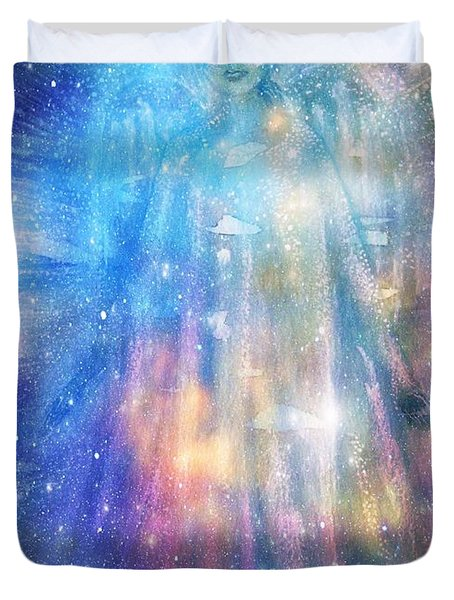 Angelic Being Duvet Cover