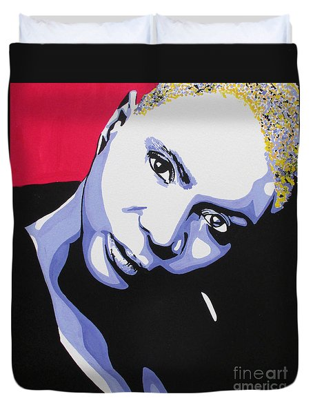Angelique Kidjo Duvet Cover