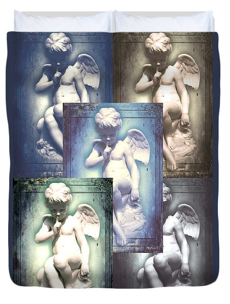 Angels Duvet Cover