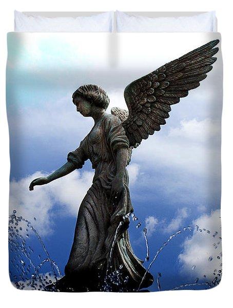 Angel's Love Duvet Cover