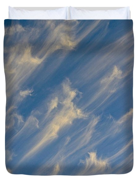 Angels Trumpets Duvet Cover