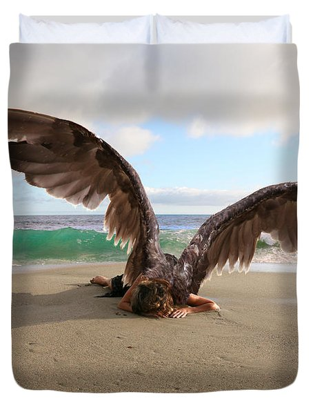 Angels- We Shall Not All Sleep Duvet Cover