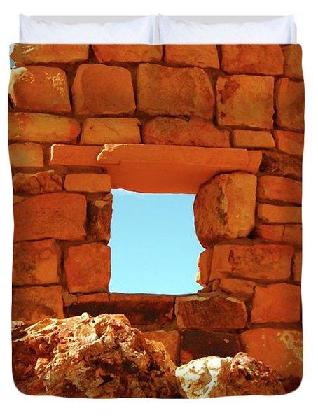 Angel's Window Duvet Cover by Kathleen Struckle