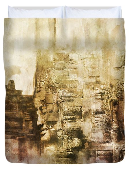 Angkor Duvet Cover by Catf
