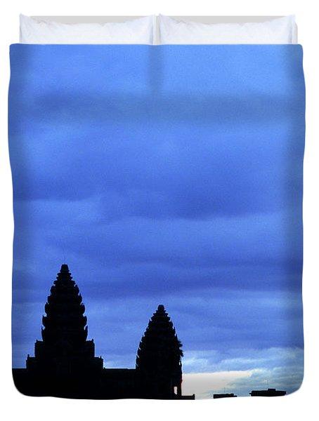 Angkor Wat Sunrise 01 Duvet Cover