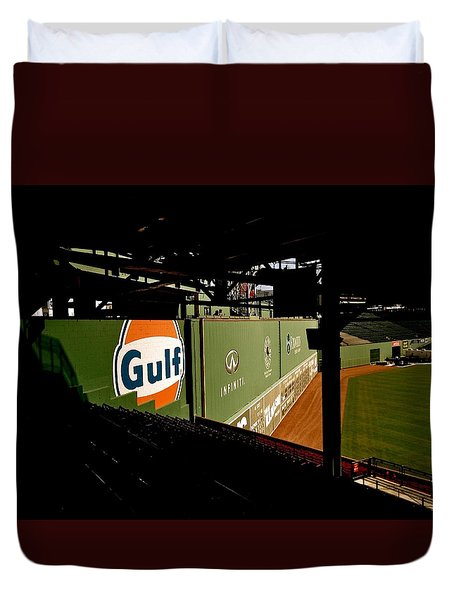 Duvet Cover featuring the photograph Angles Fenway Park  by Iconic Images Art Gallery David Pucciarelli