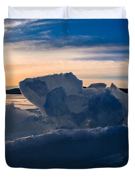 Angostura Ice Duvet Cover