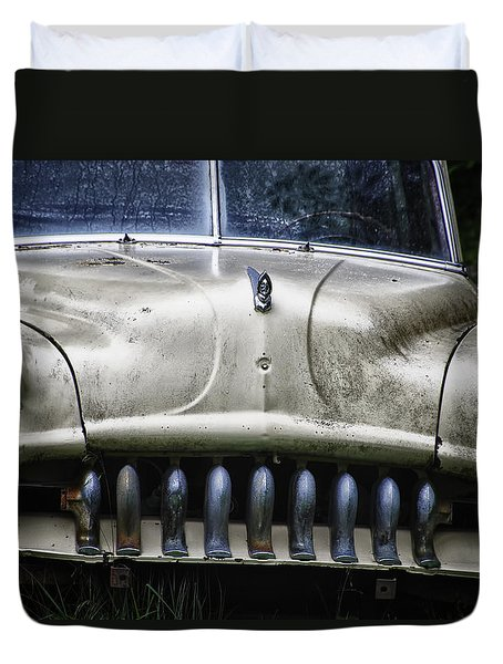 Angry Duvet Cover by Joan Carroll