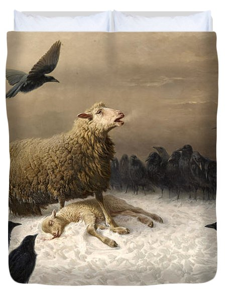 Anguish Duvet Cover