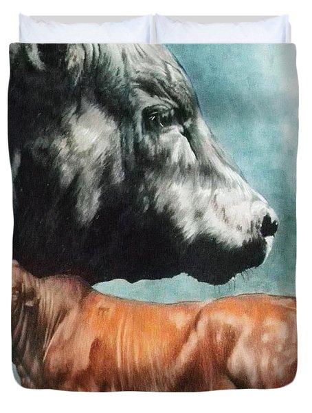 Angus Cattle Duvet Cover
