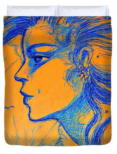 Anima Sunset Duvet Cover