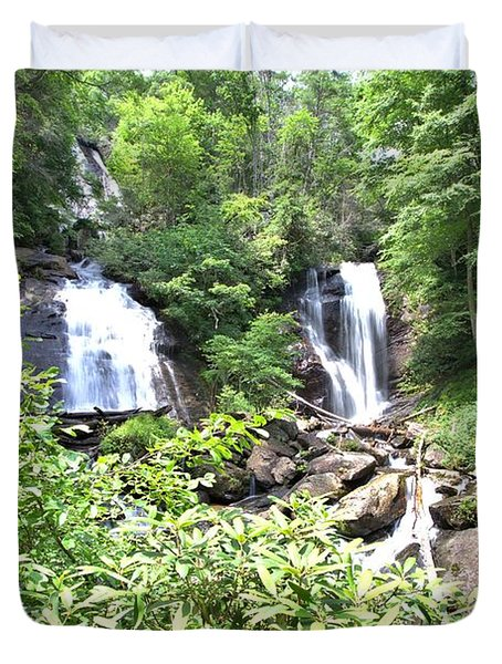 Anna Ruby Falls - Georgia - 1 Duvet Cover