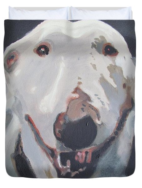 Anna The Bullie Duvet Cover