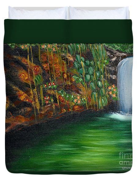 Annadale Waterfall Duvet Cover