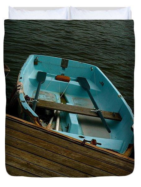 Annapolis Harbor Duvet Cover