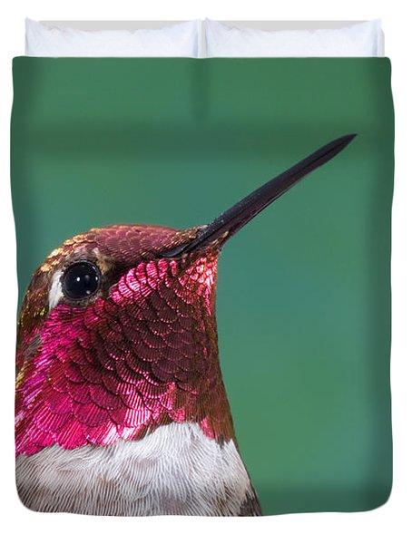 Annas Hummingbird Duvet Cover by Anthony Mercieca