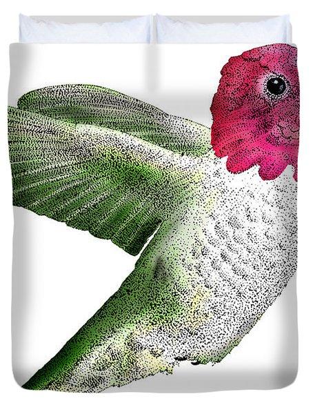 Annas Hummingbird Duvet Cover by Roger Hall