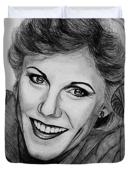 Anne Murray In 1983 Duvet Cover by J McCombie